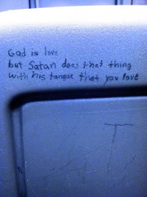 love quote satan pen Tongue