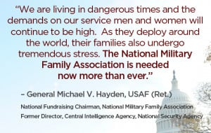 We are living in dangerous times and the demands on our servicemen and ...
