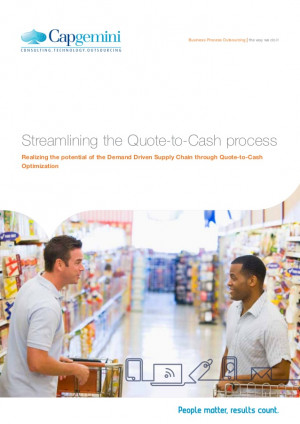 Streamlining the Quote-to-Cash process