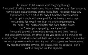 Black and White happy depressed depression sad suicidal suicide quotes ...