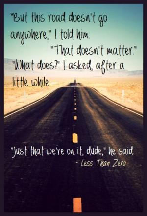 less than zero movie quotes quotesgram