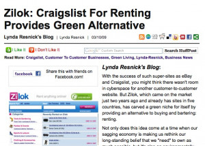 Lynda Resnick gave us a nice review in her Huffington Post column and