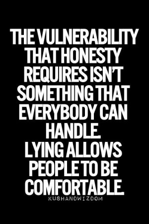 Honesty and Lies | Quotes and Sayings