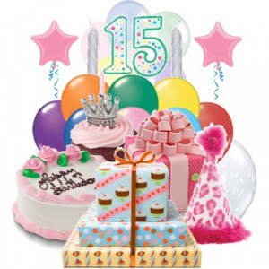 15th Birthday Cards, Happy Fifteenth Birthday Wishes