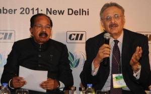 CRAFTED: Union Minister for Corporate Affairs Veerappa Moily ...
