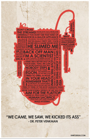 Ghostbusters Ghost Busters Quote Poster