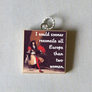 Sun King LOUIS XIV quote Pendant