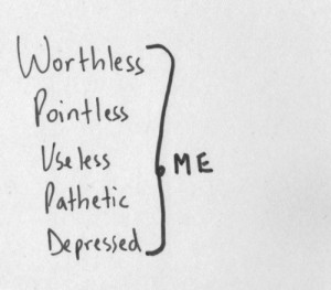 ... white, depressed, me, pathetic, pointless, quote, useless, worthless
