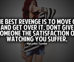 Get Over It Quotes Get over it, don't give
