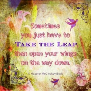 Take the leap
