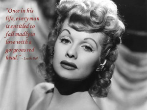 Lucille Ball Quote