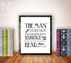 Quote Print, printable art, books, wall decor, library funny ...