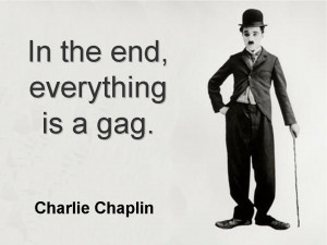 Charlie Chaplin Quote image wallpaper photo.