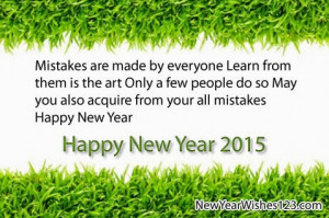 Happy New Year 2015 Wishes, Greetings, Quotes, Sms Poems | Your Blog ...