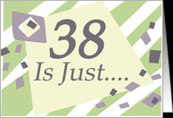 Humorous 38th Birthday Card - Product #218535
