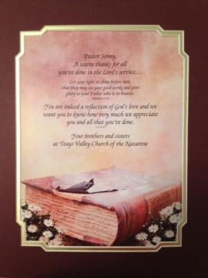 Pastor Anniversary Programs Samples