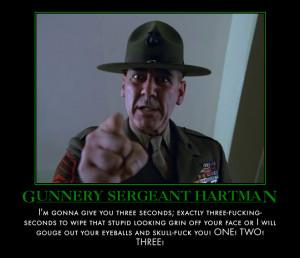 Full Metal Jacket Sergeant Hartman Quotes