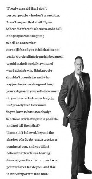 penn jillette atheism essay Simply put, an atheist doesn't believe in the existence of gods there are many myths and preconceptions when you identify yourself as an atheist here are answers to the most common questions about atheists there are as many reasons for being an atheist as there are atheists the road to atheism.
