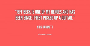 Jeff Beck Quotes