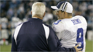 Tony Romo Quote About Bill Parcells from Decade of Futility by Ryan ...