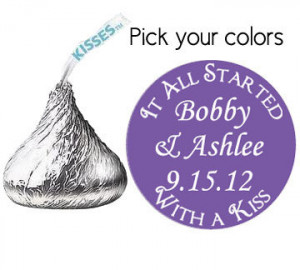 on we Will Share Information About Hershey Kiss Wedding Favor Quotes ...