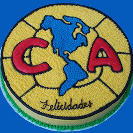 Club America Soccer Team...