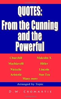 Quotes: from the Cunning and the Powerful (Paperback) ~ DFTL Cover Art