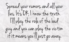 Stop Spreading Rumors Quotes | You can get your favourite quotes as a ...