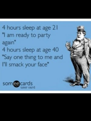 the young and the restless vs the tired and the grumpy lol #quotes