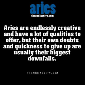 Aries zodiac facts. *well, that sounds familiar