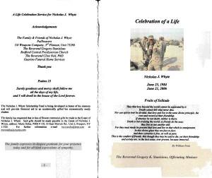 Funeral Program Quotes
