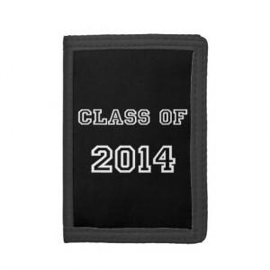 Class of 2014 Graduation - Graduate '14 Student Trifold Wallet