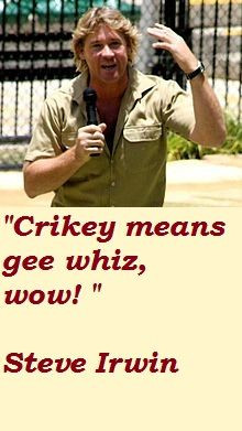crikey more life quotes steve irwin miss irwin quotes ripped steve ...