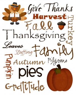 ... cute free Thanksgiving printables, check out my personal favorites