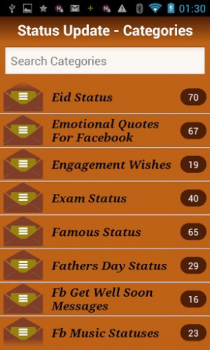 Other Facebook Statuses & Updates ?