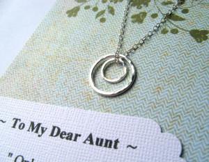 ... Niece Auntie New Aunt Jewelry from Nephew GiFT WRAPPED Wear Everyday