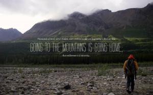Wilderness quote wallpaper
