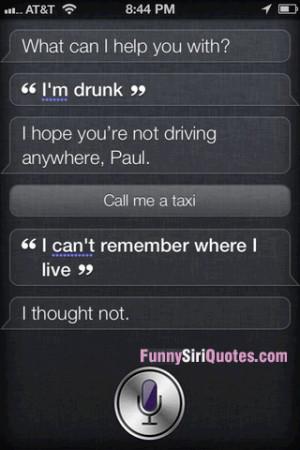 Popular Siri Quotes