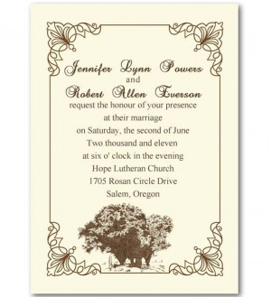 Wedding Invitation Quotes Hippy Style Pic #19