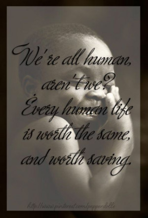 we are all human quote