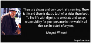 Quotes About Life and Trains