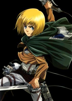 Armin Arlert, Shingeki no Kyojin, Chapter 5
