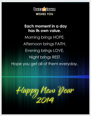 Happy New Year 2014 Wishes, Greetings, SMS & Quotes   Images ...