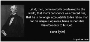 More John Tyler Quotes