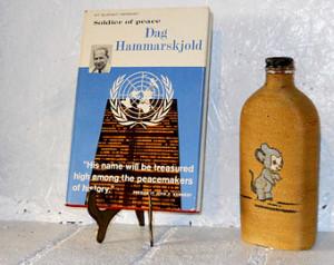 1961 Soldier Of Peace. Great Lives Series. Dag Hammarskjold. ...