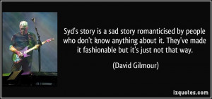 More David Gilmour Quotes