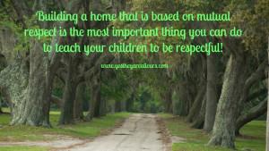 Twenty Ways to Treat Your Children with Respect: