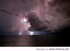 Awesome storm in Atlantic Ocean | Funny Pictures, Funny Quotes ...