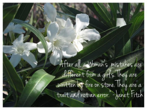 white oleander, janet fitch quote