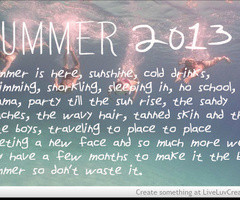 Tagged with summer 2013 quote